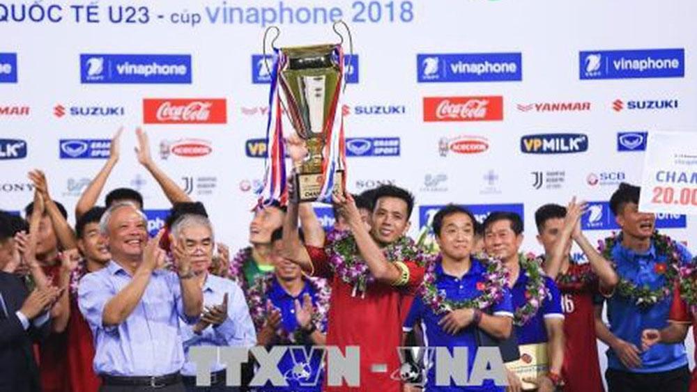 U23 Việt Nam chính thức đăng quang vô địch tại Giải bóng đá quốc tế U23