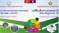 Việt Nam đưa hơn 100 công nghệ sang trình diễn tại Lào