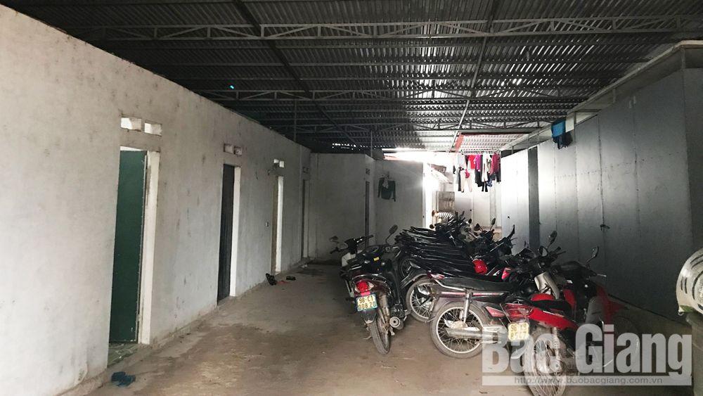 Nở rộ dịch vụ nhà trọ công nhân ở Thanh Vân