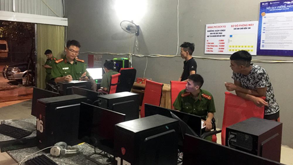 Kiểm tra nhà nghỉ, quán karaoke, internet tại xã Đồng Sơn và Song Khê
