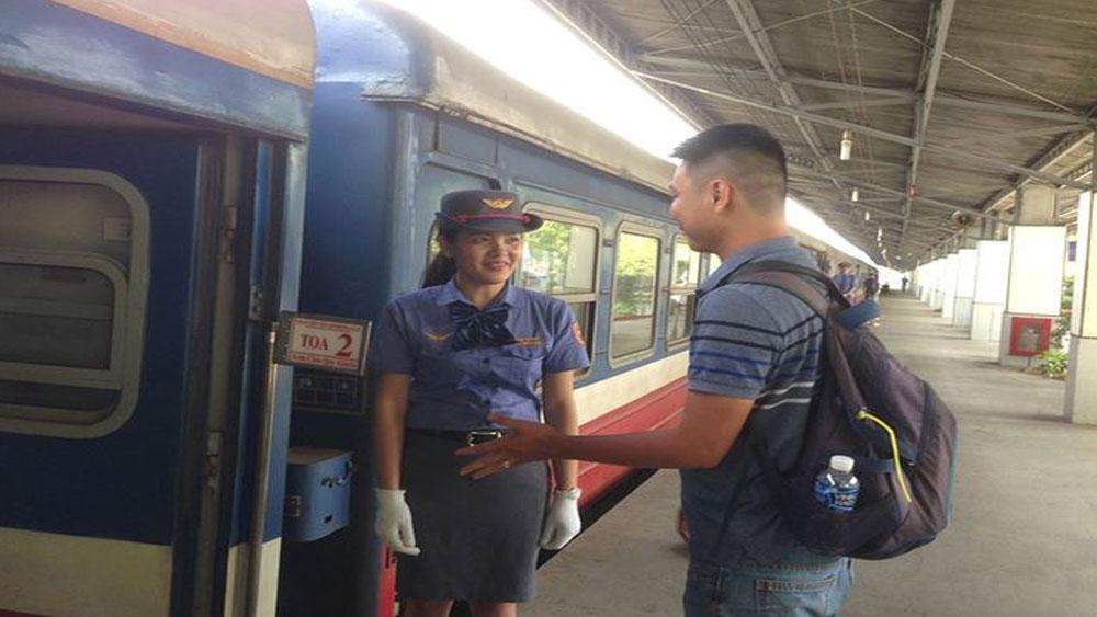 Tăng 30 chuyến tàu Sài Gòn - Phan Thiết, Nha Trang… dịp lễ 2-9
