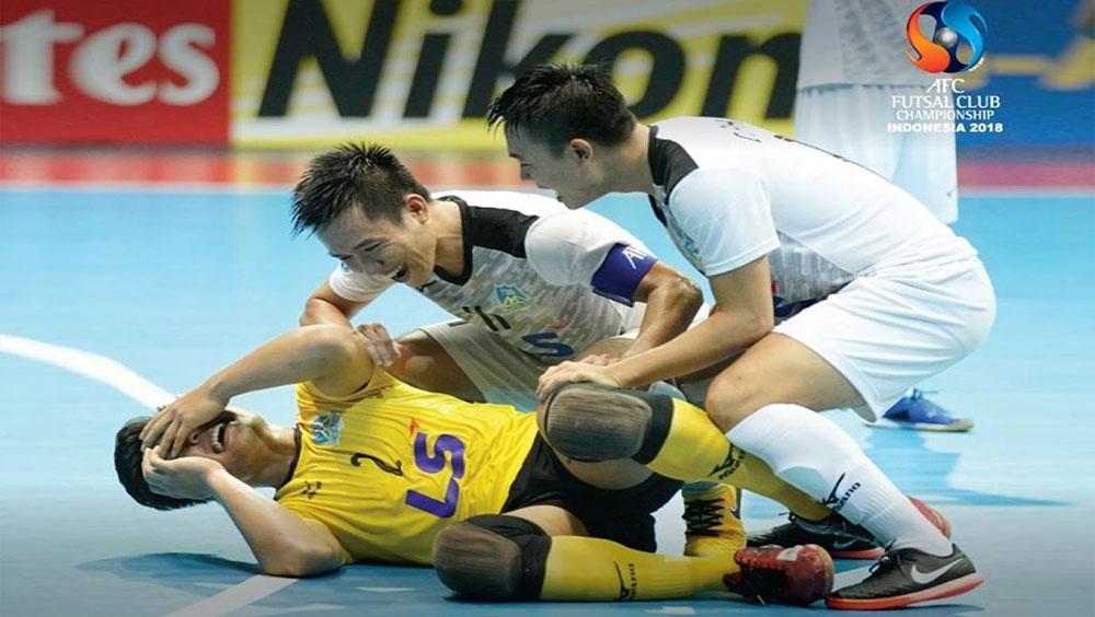 Thái Sơn Nam giành vé vào bán kết giải futsal châu Á 2018