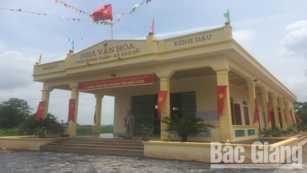 Lạng Giang; Đào Mỹ; nhà văn hóa, tỉnh Bắc Giang