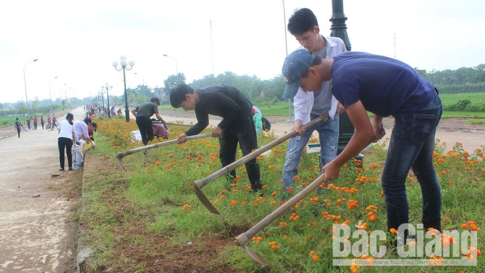 Việt Yên, đoàn viên thanh niên