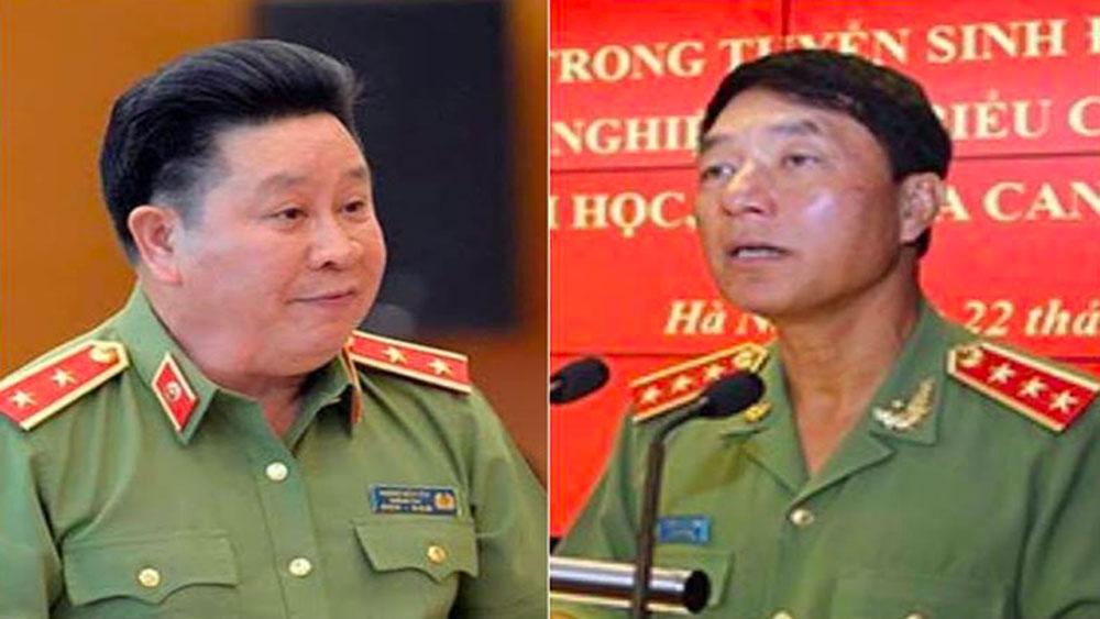 Chủ tịch nước ký quyết định giáng cấp bậc hàm cấp tướng Công an nhân dân