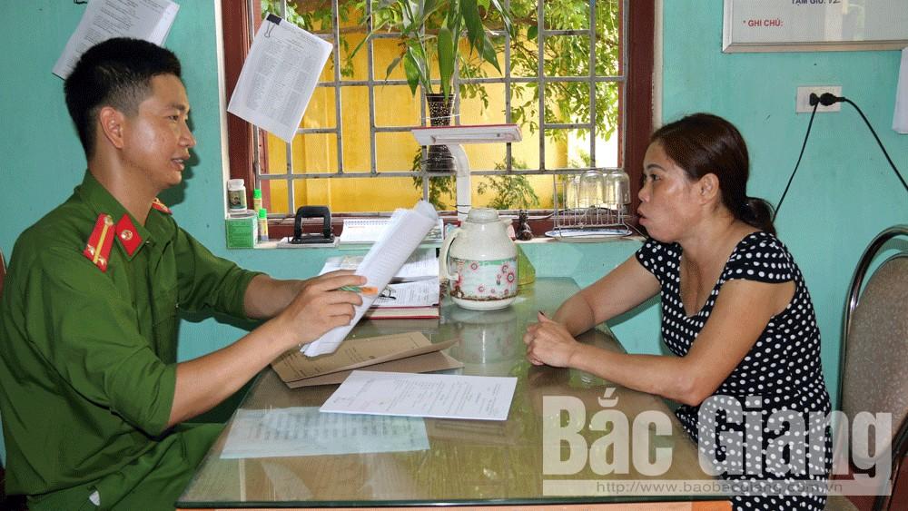 Làm rõ đối tượng gây ra nhiều vụ lừa đảo chiếm đoạt tài sản tại Bắc Giang