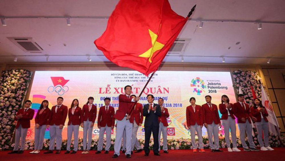 Đoàn Thể thao Việt Nam, Asiad 18, vận động viên, huy chương vàng, U23 Việt Nam, Bộ trưởng Nguyễn Ngọc Thiện