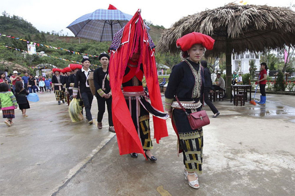 Northwestern cuisine, Sun World, Fansipan Legend, Northwestern dishes, popular destination, Northwestern region