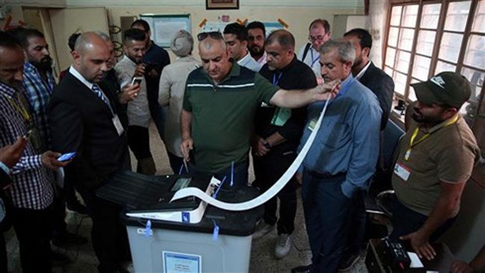 Iraq thông cáo kết quả bầu cử Quốc hội sau khi kiểm phiếu lại bằng tay