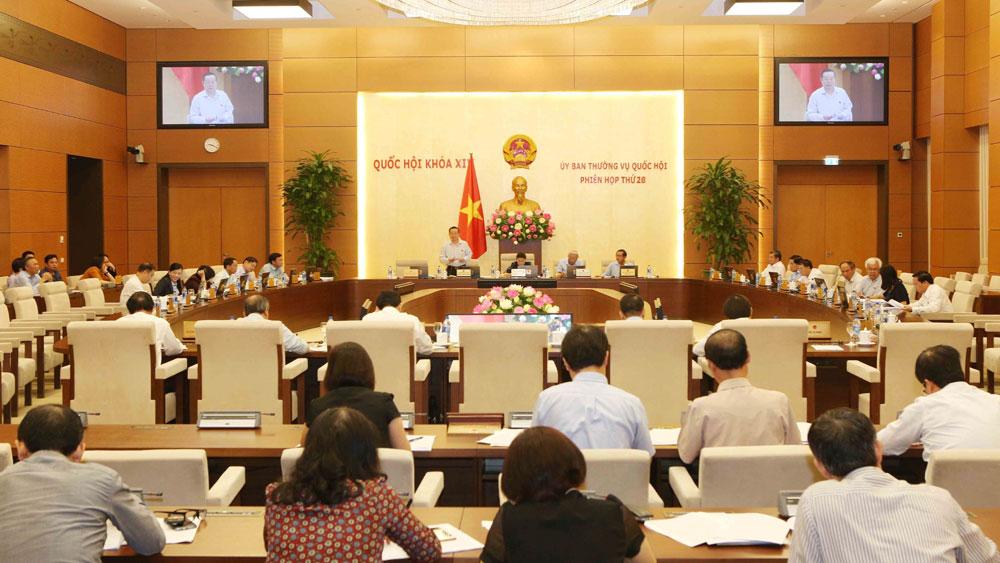 Phiên họp, thứ 26, Ủy ban Thường vụ Quốc hội, làm rõ, quy định, nhập khẩu, thức ăn, chăn nuôi