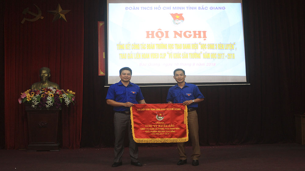 Bắc Giang, học sinh, đoàn trường, sinh viên
