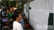 Bắc Giang công bố kết quả điểm sát hạch giáo viên năm 2018