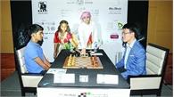 Quang Liêm đồng hạng nhất cờ chớp tại Abu Dhabi Masters