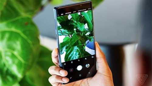 Những công nghệ siêu tối tân trên chiếc Galaxy Note 9