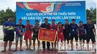 Bắc  Giang xếp thứ Nhì toàn đoàn tại Giải vật trẻ và thiếu niên toàn quốc