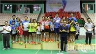 450 VĐV tham gia Giải cầu lông học sinh tỉnh Bắc Giang mở rộng