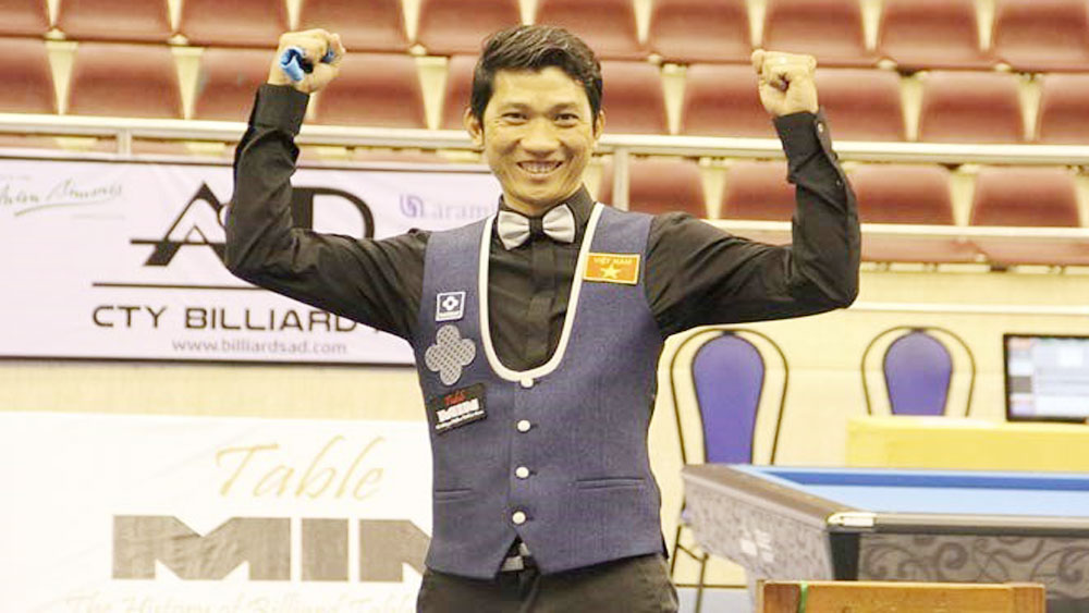 Binh Duong Int'l Three-Cushion Billiards Tourney to be held next week