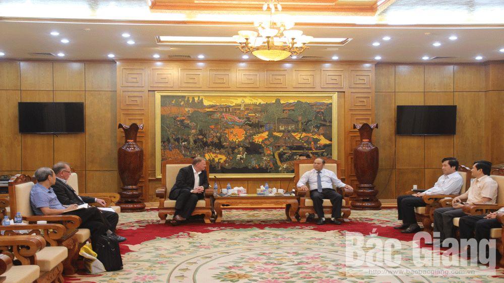 Bắc Giang sẵn sàng tạo điều kiện thuận lợi để các doanh nghiệp Úc đầu tư hiệu quả