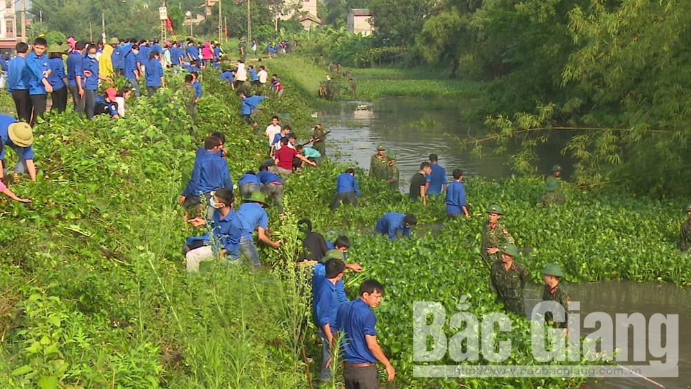 Khơi thông dòng chảy kênh Nham Biền