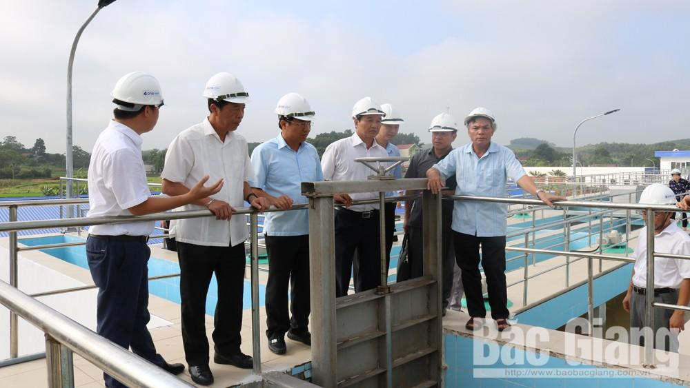 Bảo đảm cung cấp nước sạch bền vững từ hồ Cấm Sơn