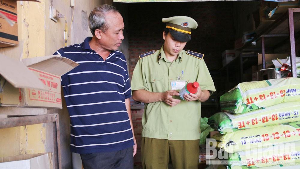 Ngăn chặn phân bón, thuốc bảo vệ thực vật chất lượng kém