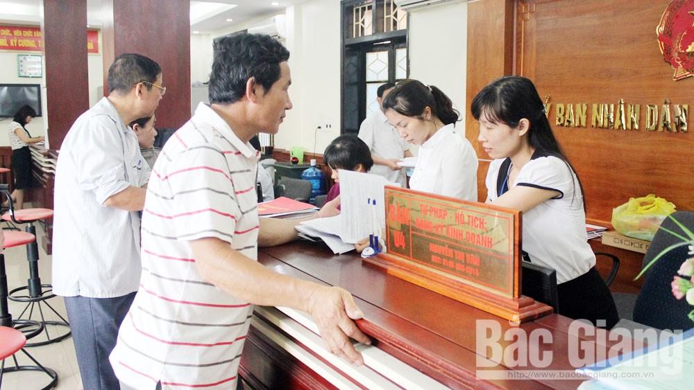 Cải cách hành chính lĩnh vực tư pháp ở Bắc Giang: Rút ngắn thời gian thực hiện thủ tục