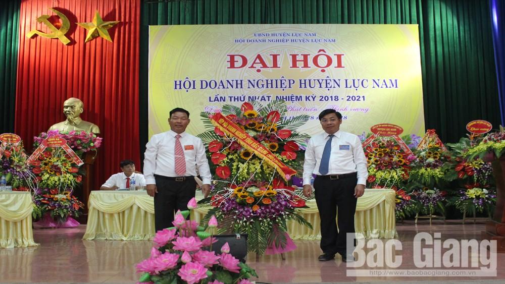 Hội Doanh nghiệp huyện Lục Nam tổ chức Đại hội lần thứ I