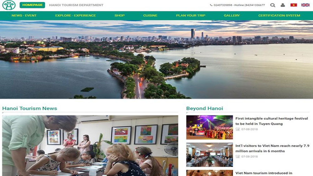 Hanoi launches tourism portal