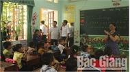 Phó Chủ tịch UBND tỉnh Lê Ánh Dương kiểm tra công tác chuẩn bị năm học mới tại Yên Thế, Lục Ngạn