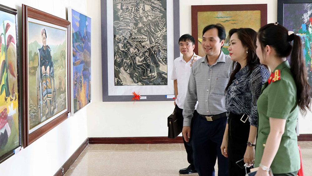 Triển lãm mỹ thuật Bắc miền Trung lần thứ 23 tại Hà Tĩnh