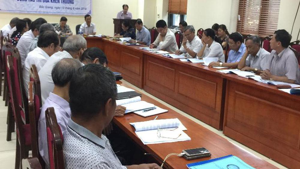 Hội Khuyến học tỉnh Bắc Giang tổ chức tập huấn cho đội ngũ cán bộ hội các cấp