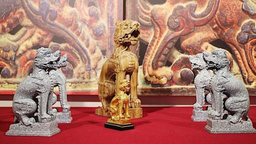 Triển lãm tư liệu linh vật nghê Việt