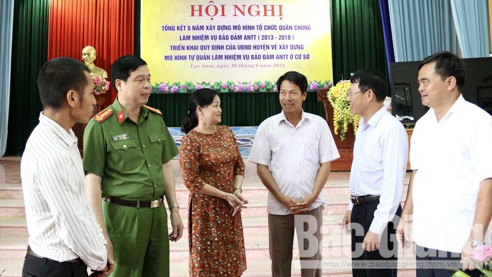 Lục Nam: Nhân rộng mô hình bảo đảm ANTT theo hướng hợp lòng dân, vừa sức dân