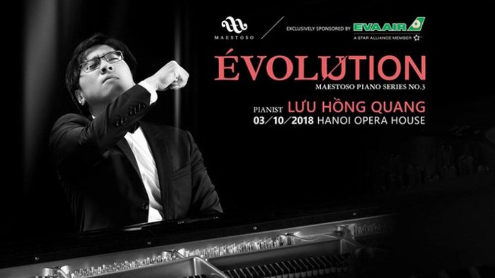 Nghệ sĩ piano Lưu Hồng Quang tái ngộ khán giả Hà Nội