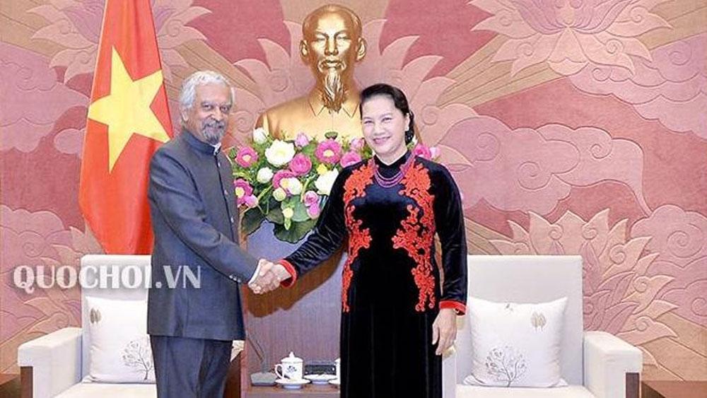 NA leader receives UNDP, UNICEF representatives