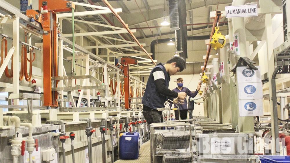Bước tiến trong thu hút  đầu tư trực tiếp nước ngoài tại Bắc Giang