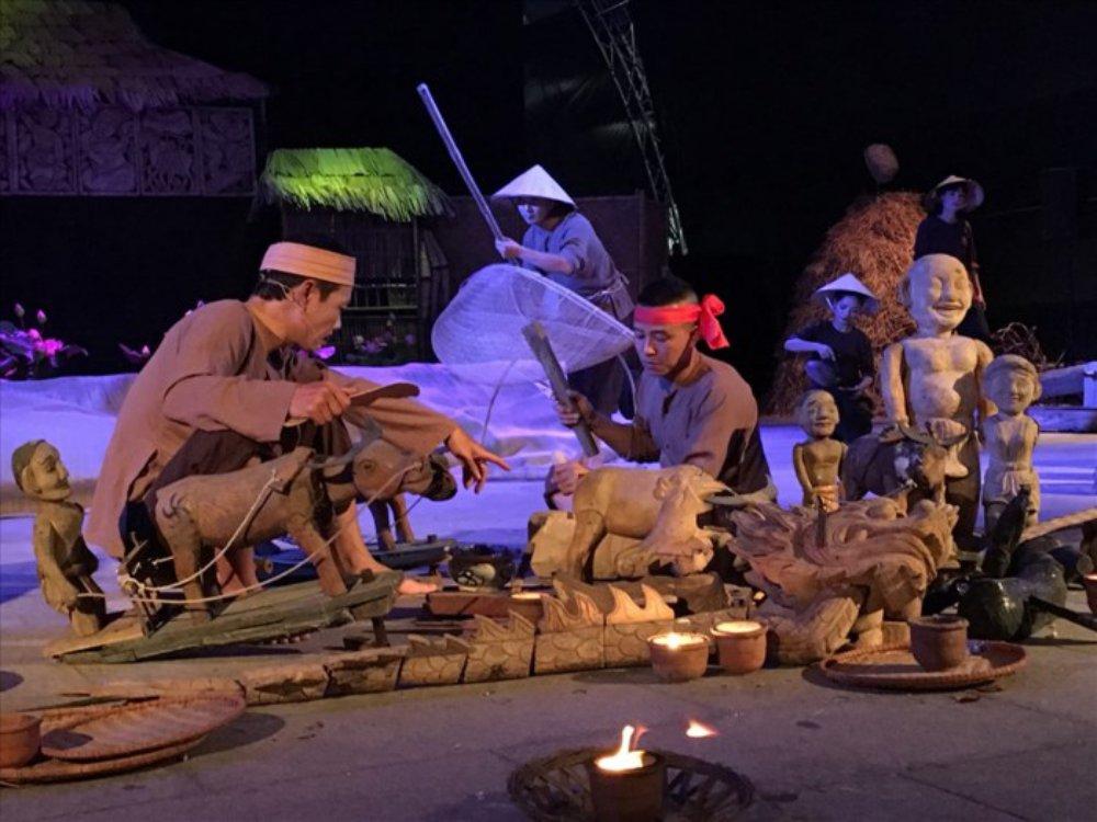 Khai mạc festival múa rối nghệ thuật Việt Nam lần đầu tiên