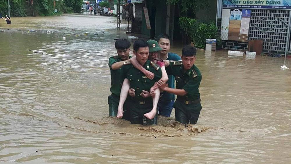 Đã có ít nhất 6  người chết và mất tích do mưa lũ