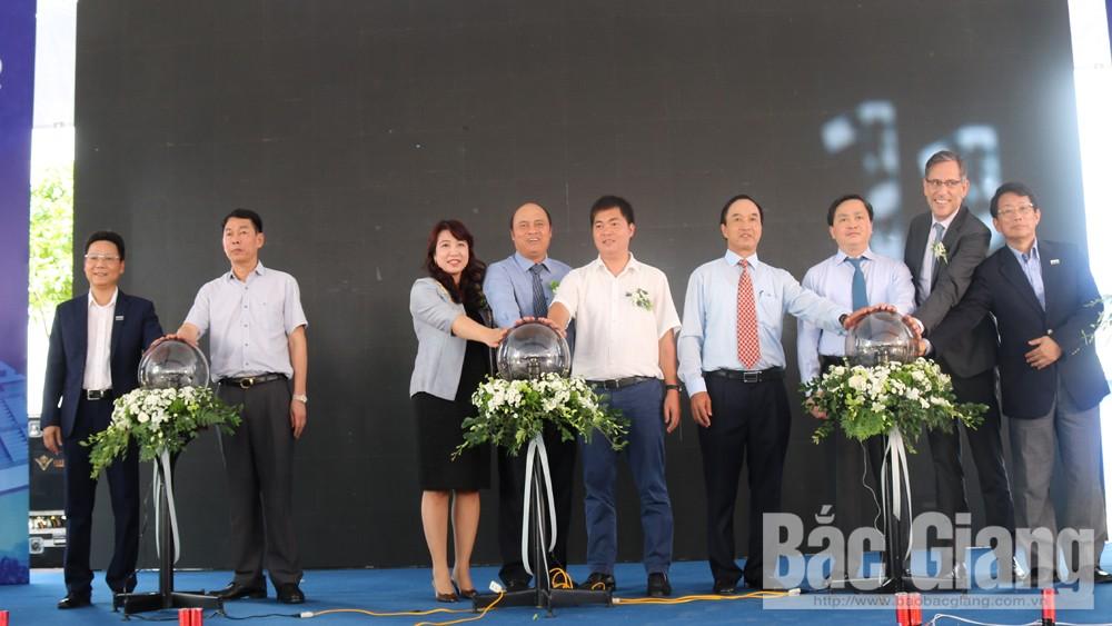 Chính thức cấp nước từ hồ Cấm Sơn vào hệ thống nước sạch Bắc Giang