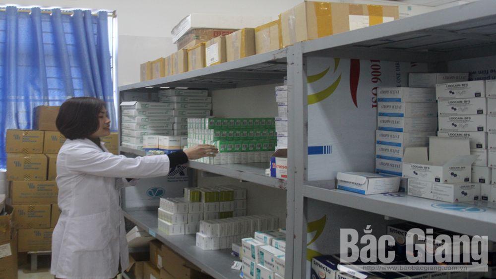 Kho thuốc bệnh viện ở Bắc Giang chưa được chứng nhận đạt chuẩn thực hành tốt bảo quản thuốc