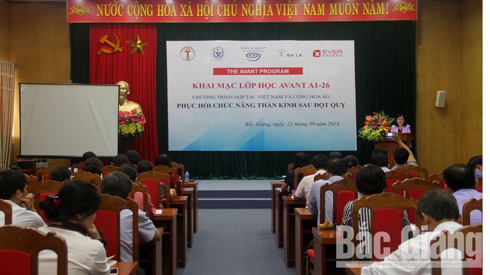 Triển khai chương trình phục hồi chức năng thần kinh cho bệnh nhân sau đột quỵ tại Bắc Giang
