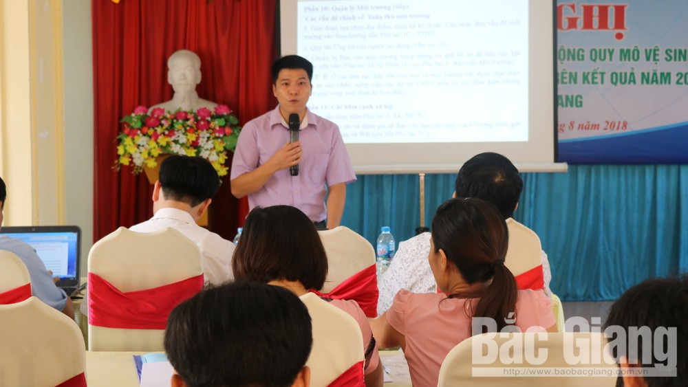 Bắc Giang mở rộng quy mô vệ sinh và nước sạch nông thôn