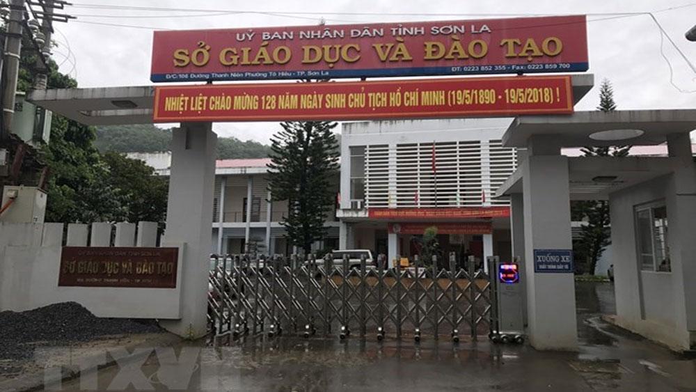 Sai phạm, kỳ thi THPT quốc gia, Sơn La, khởi tố, một đối tượng