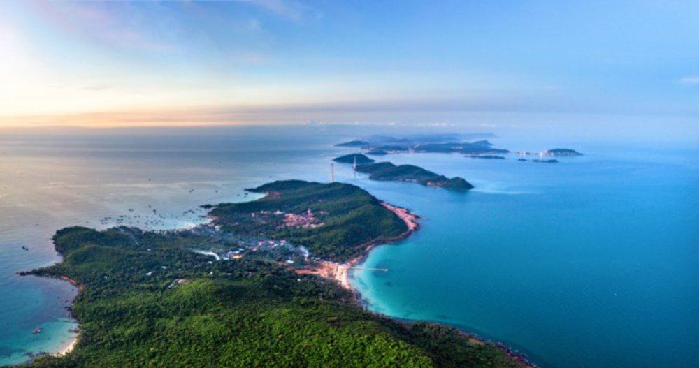 Vẻ đẹp Việt Nam nhìn từ trên cao