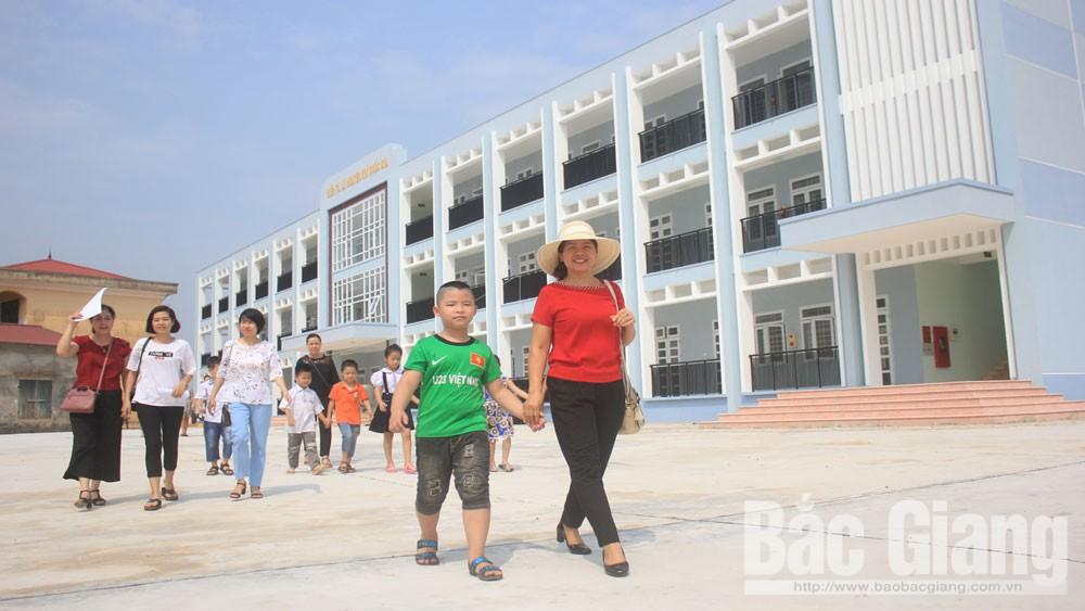 TP Bắc Giang dành nguồn lực để toàn bộ trường học đạt chuẩn