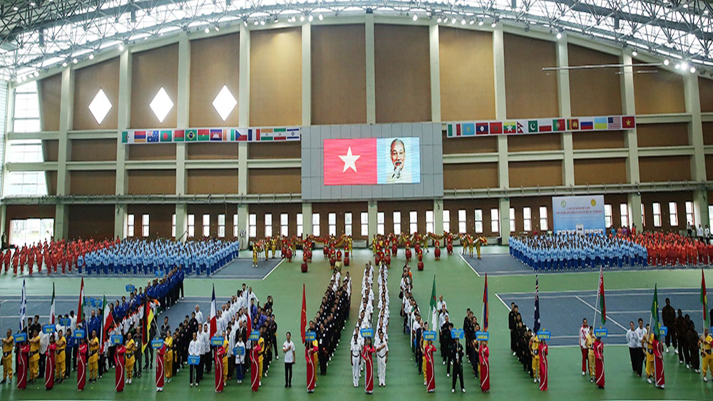 World championship, traditional Vietnamese martial arts, kicks off, second edition, precious heritage, favorable conditions, Vietnam's culture and tradition