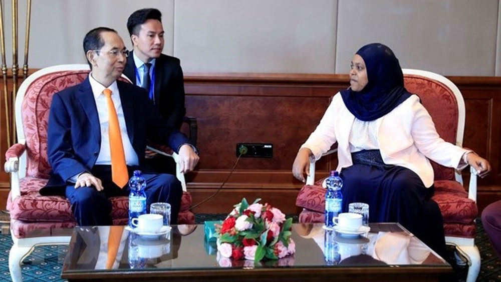 President: Vietnam keen on boosting ties with Ethiopia