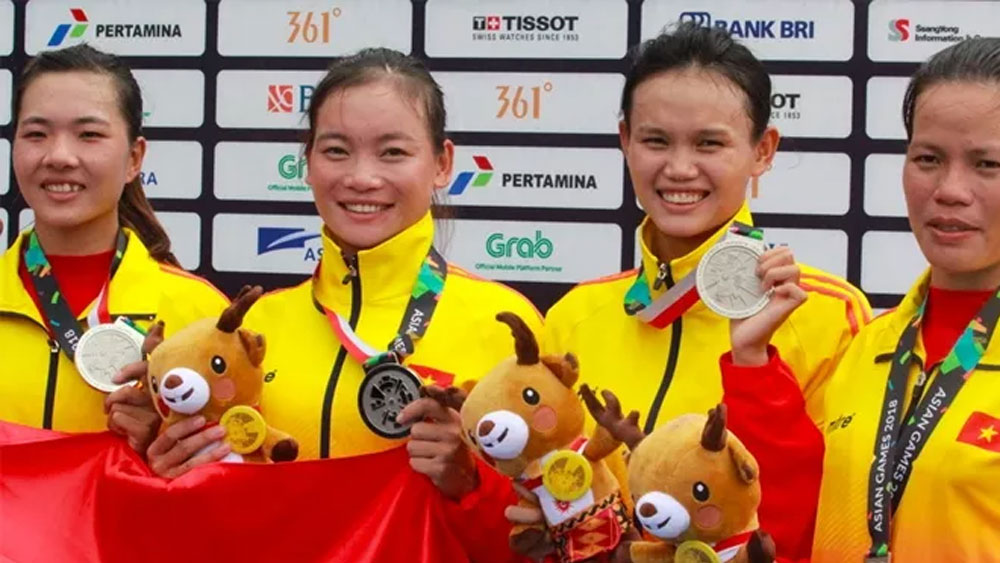 Vietnam wins more medals in rowing, shooting