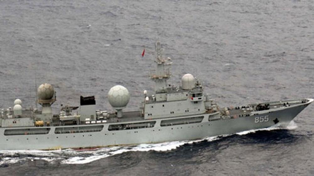 Mỹ công bố báo cáo về hoạt động gia tăng trên Thái Bình Dương của Trung Quốc