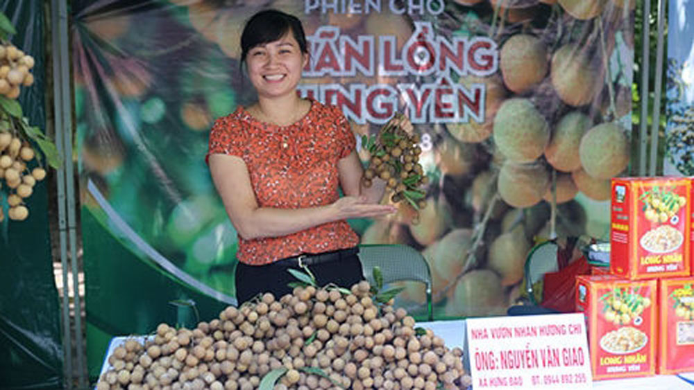 Ecopark longan fair to promote Hung Yen's specialty fruit